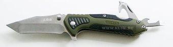 Нож складной SRM 794 (SanRenMu 7094STX-PPH-T4) многофункциональный из стали 8Cr13MoV купить Нож складной SRM 794 (7094STX-PPH-T4), нержавеющая сталь 8Cr13MoV.Общая длина mm : 165Длина клинка mm : 65Макс. ширина клинка mm : 22Макс. толщина клинка mm : 2.5Длина рукояти mm : 100